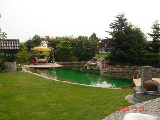 Schwimmteich for Garten randgestaltung