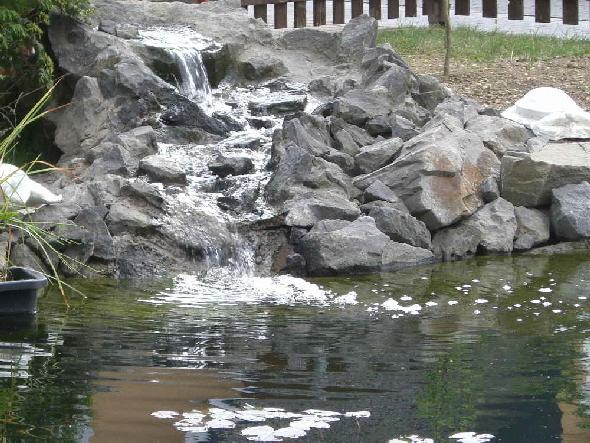 Gartenteich - Wasserfall gartenteich ...